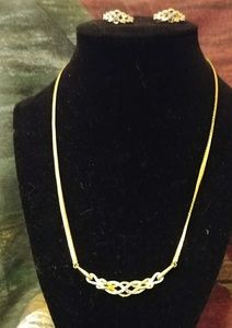 3- Piece Set, Necklace, earrings and ring